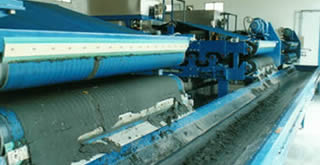 Quality sludge dewatering belt allows belt press filter to perform smoothly with high efficiency.