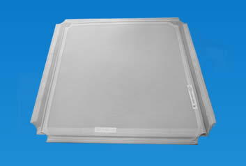 Two pieces of square sifting screen suit a wide range of flour purifier.